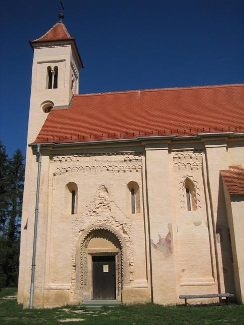 Az őriszentpéteri román kori Szent Péter műemléktemplom
