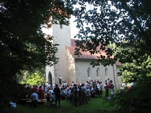 Harangszentelés a veleméri Szent Péter templomban