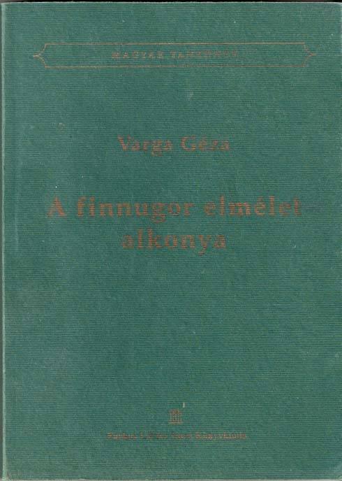 A finnugor elmélet alkonya