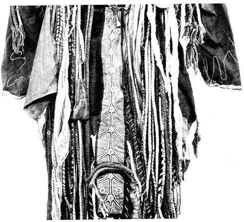 darhat sámánköpeny háta