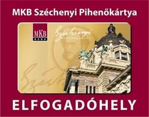 MKB Széchenyi Pihenőkártya elfogadóhely