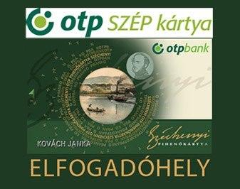 OTP Széchenyi Pihenőkártya elfogadóhely